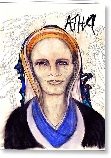 Atha Greeting Card