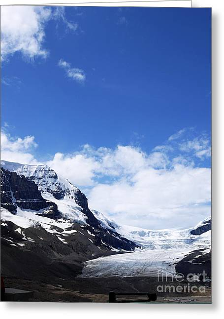 Athabascar Glacier Greeting Card