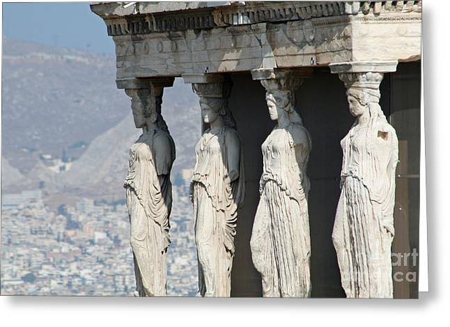Athens 14 Greeting Card by RAVaM Photography