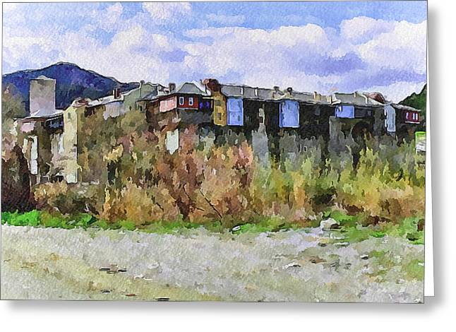 Athos Holly Place 2 Greeting Card by Yury Malkov