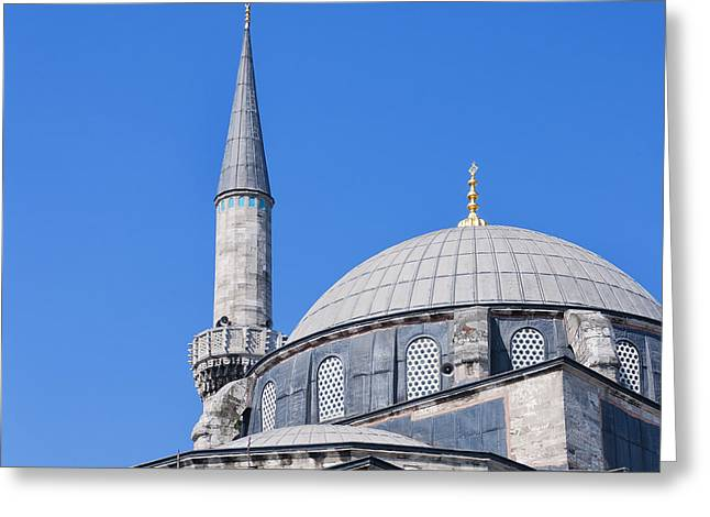 Atik Ali Pasha Mosque 01 Greeting Card by Antony McAulay