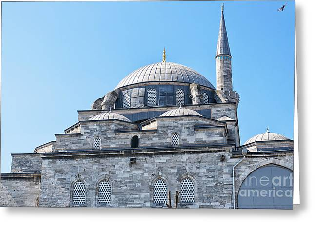 Atik Ali Pasha Mosque 03 Greeting Card by Antony McAulay