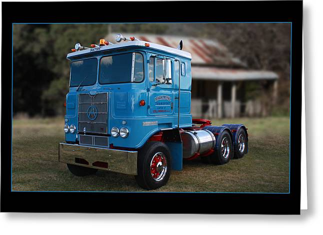 Greeting Card featuring the photograph Atkinson Prime Mover by Keith Hawley