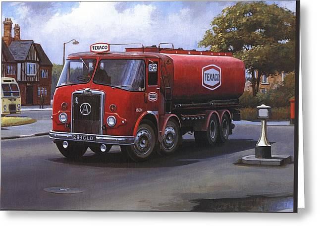 Atkinson Tanker Greeting Card
