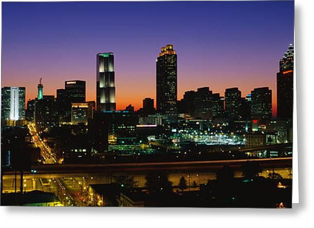 Atlanta Ga Greeting Card
