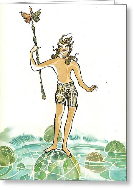Atlantian Greeting Card