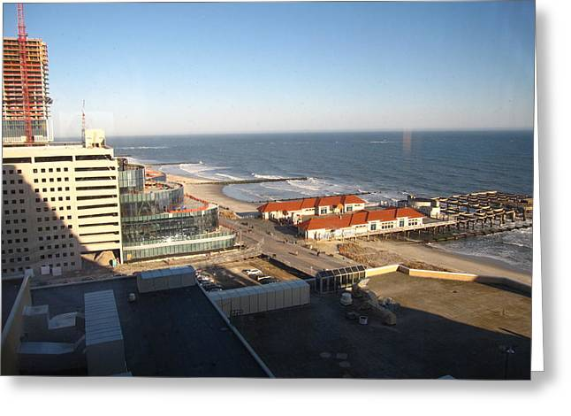 Atlantic City - 01133 Greeting Card by DC Photographer