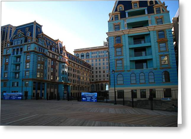 Atlantic City - Boardwalk - 12128 Greeting Card