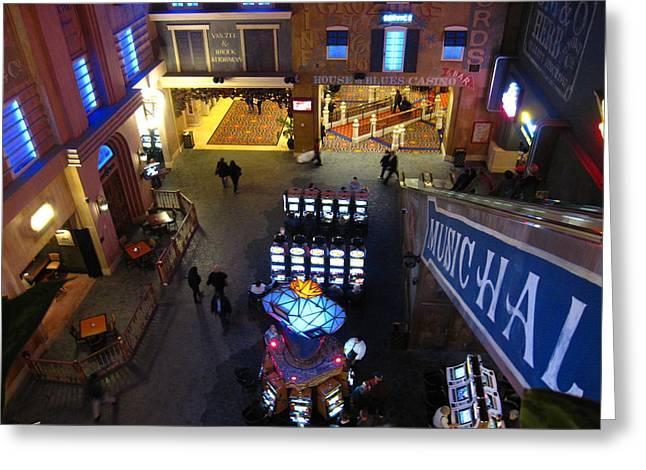 Atlantic City - Casino - 12122 Greeting Card by DC Photographer