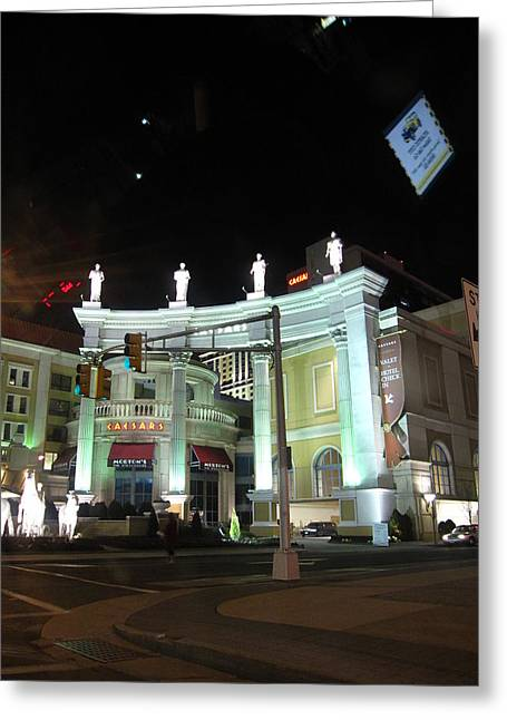 Atlantic City - Casino - 12128 Greeting Card by DC Photographer