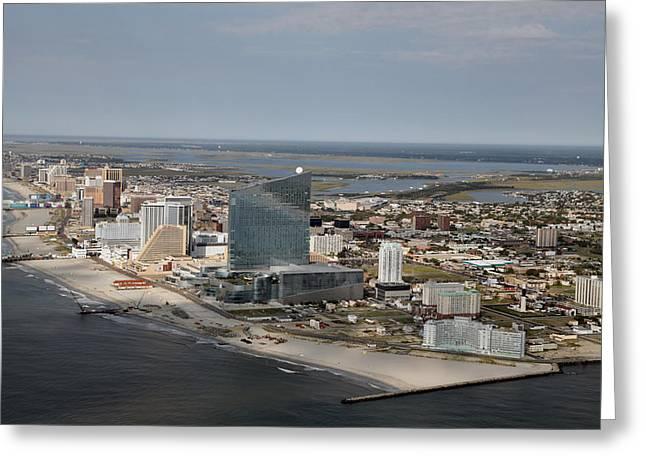 Atlantic City Poster Greeting Card