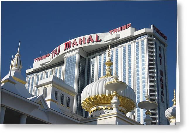 Atlantic City - Trump Taj Mahal Casino - 12122 Greeting Card