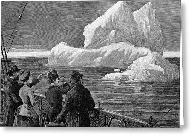 Atlantic Iceberg Greeting Card