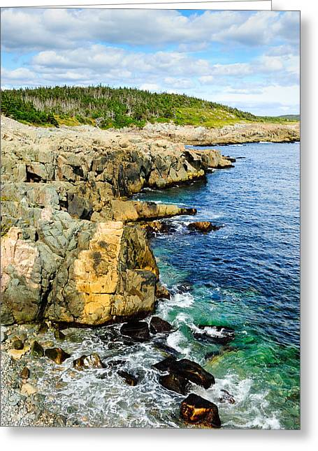 Atlantic Shoreline Greeting Card