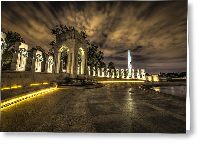 Atlantic Side Of The World War II Memorial Greeting Card