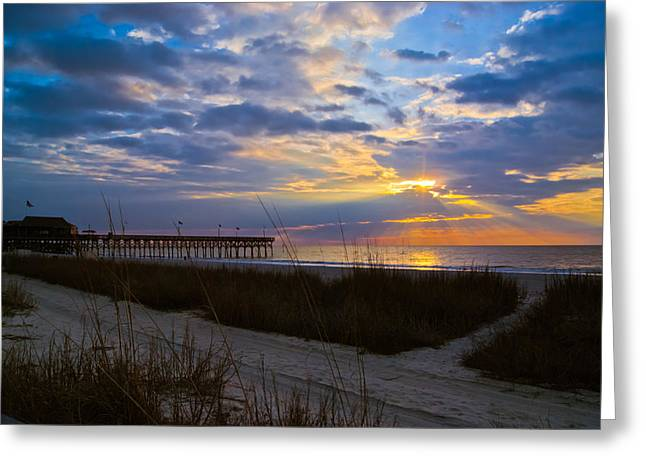 Atlantic Sunrise In March Greeting Card