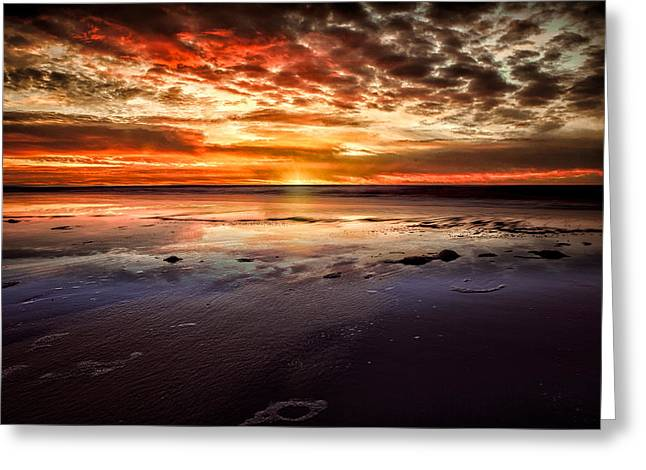 Atlantic Sunrise Greeting Card