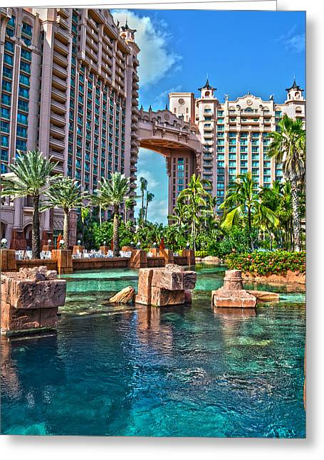 Atlantis - Bahamas Greeting Card