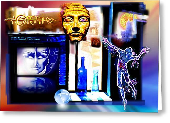 Atlantis Memory Greeting Card by Hartmut Jager