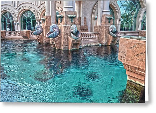 Atlantis Resort In The Bahamas Greeting Card