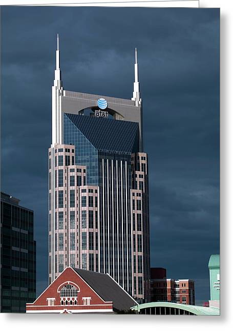 At&t Building Greeting Card