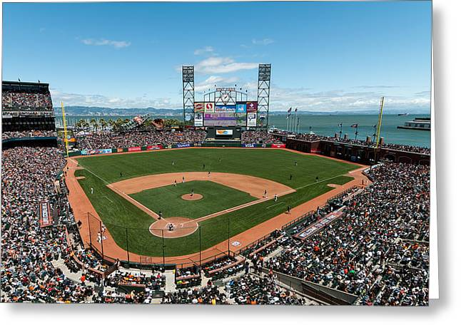 Att Park On Mothers Day Greeting Card