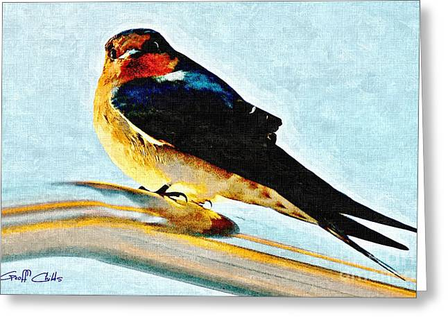 Attitude In Nature Greeting Card by Geoff Childs