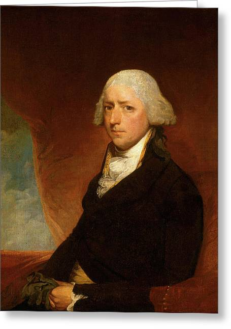Attributed To Gilbert Stuart, John Ashe, American Greeting Card