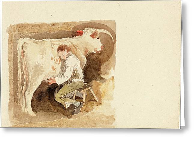 Attributed To John Sell Cotman British, 1782 - 1842 Greeting Card