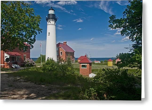 Au Sable Point Lighthouse  Greeting Card