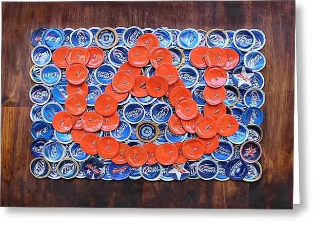 Auburn - Wde Greeting Card by Kay Galloway