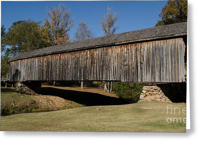 Auchumpkee Creek Bridge Greeting Card by Donna Brown