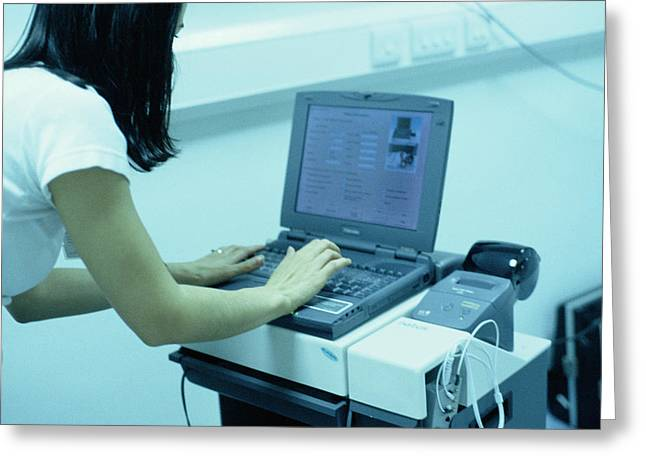 Auditory Brainstem Response Equipment Greeting Card