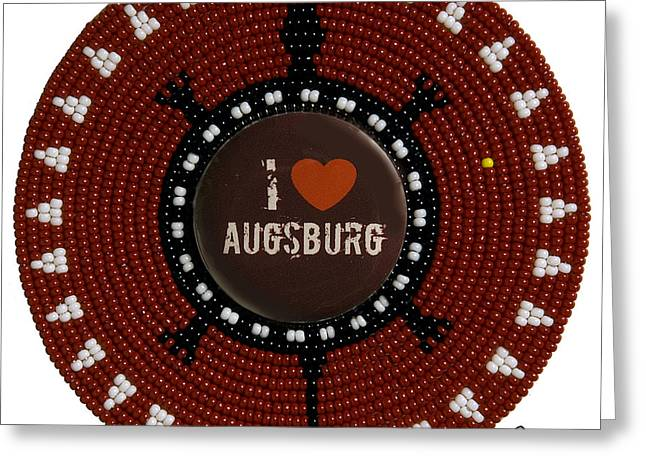 Augsburg 2011 Greeting Card