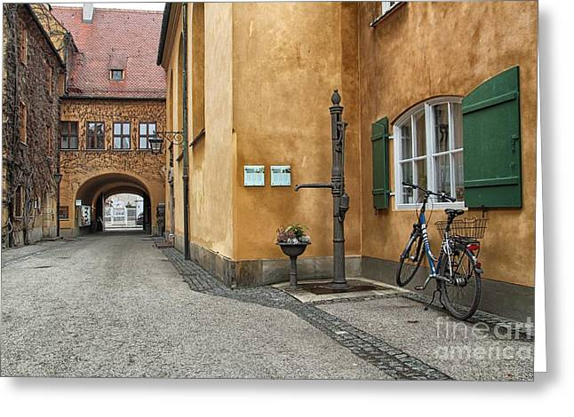 Greeting Card featuring the photograph Augsburg Germany by Paul Fearn
