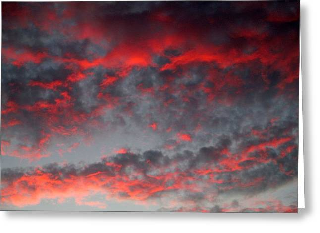 August Palm Springs Sunset 3 Greeting Card by Randall Weidner