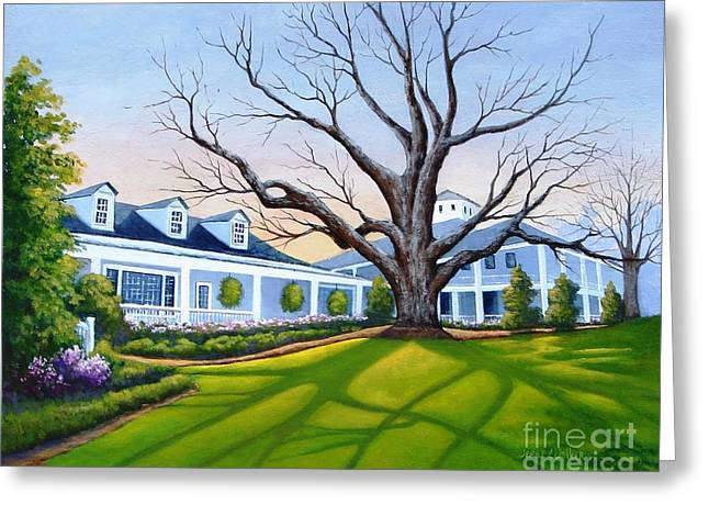 Augusta National Clubhouse Greeting Card