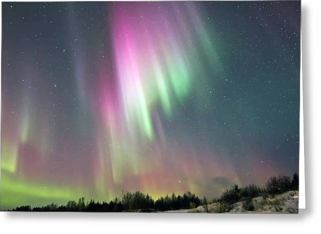 Aurora Pop Greeting Card