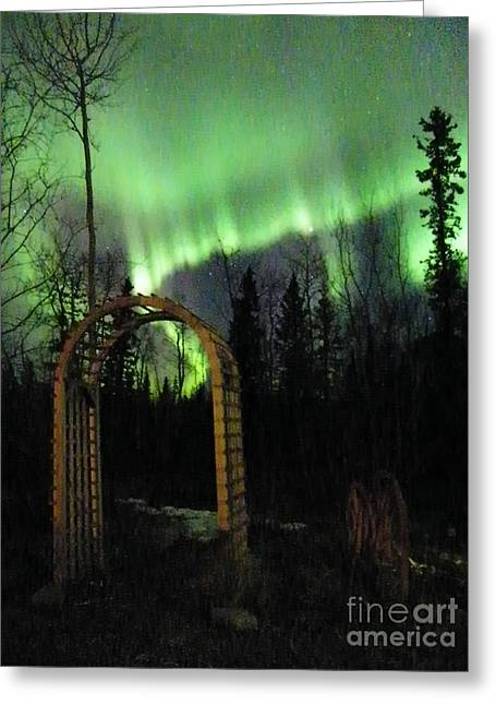 Auroral Arch Greeting Card