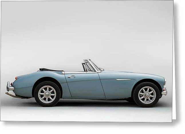 Austin Healey 3000 Mkiii Greeting Card