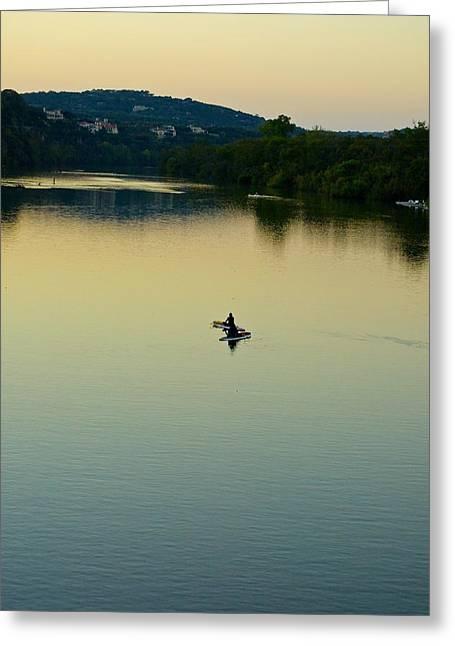 Austin Lady Bird Lake Greeting Card