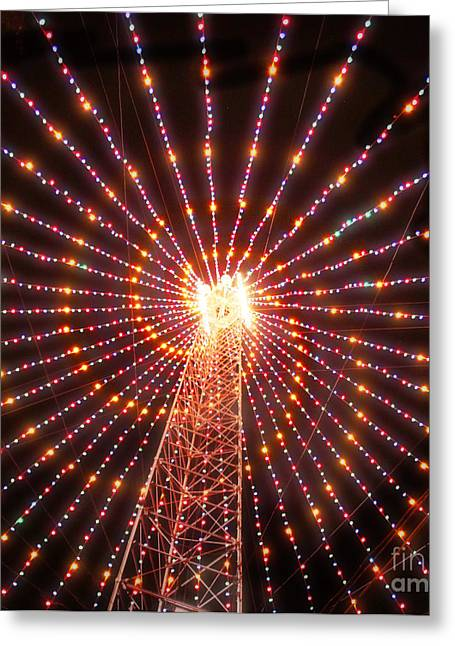 Austin Texas Trail Of Lights  Greeting Card