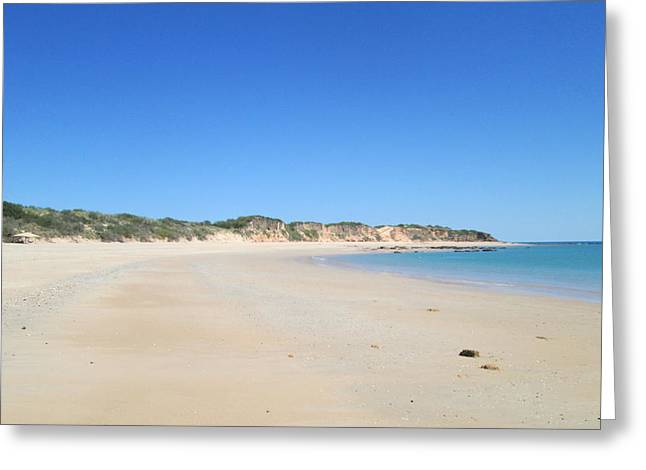 Australian Beach Greeting Card