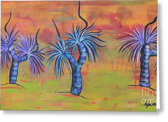 Australian Grass Trees Greeting Card