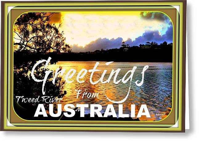 Australian Greeting Cards Greeting Card by Kevin Perandis