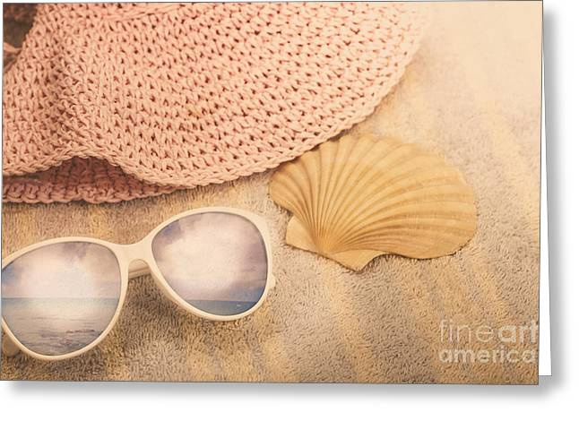 Australian Summer Holidays Greeting Card by Jorgo Photography - Wall Art Gallery