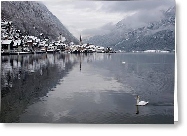 Austria, Hallstatt Greeting Card