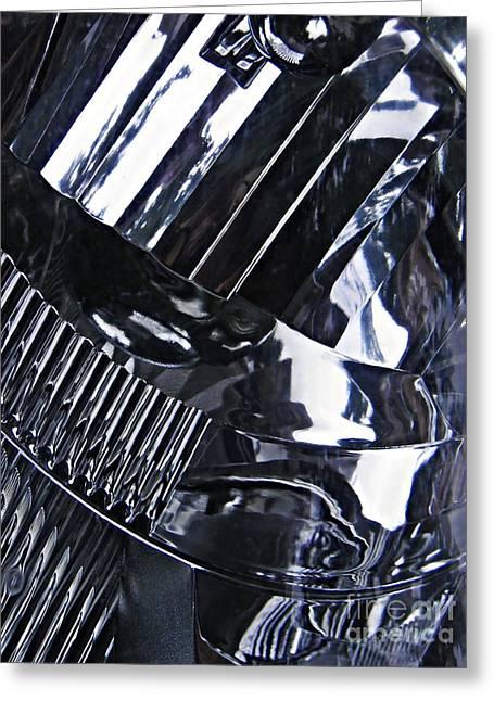 Auto Headlight 10 Greeting Card