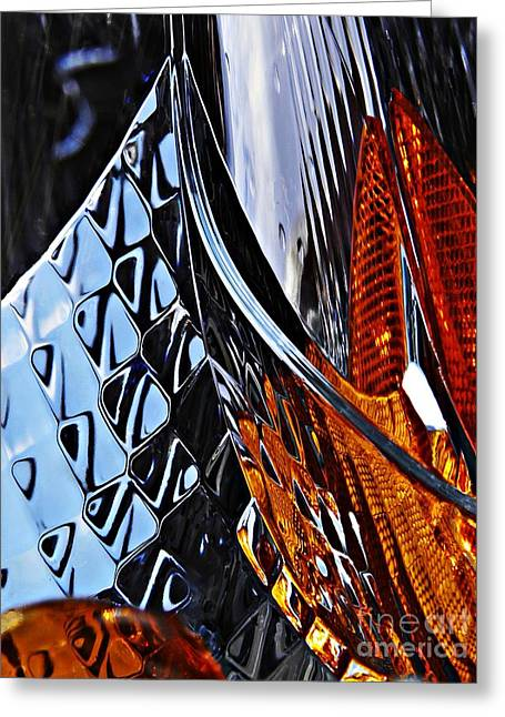 Auto Headlight 47 Greeting Card