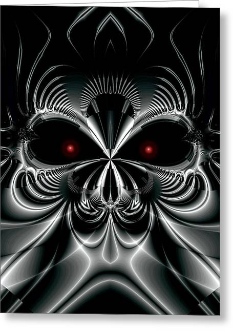 Automaton Greeting Card by Kevin Trow